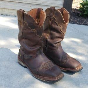 Dan Post square toe boots